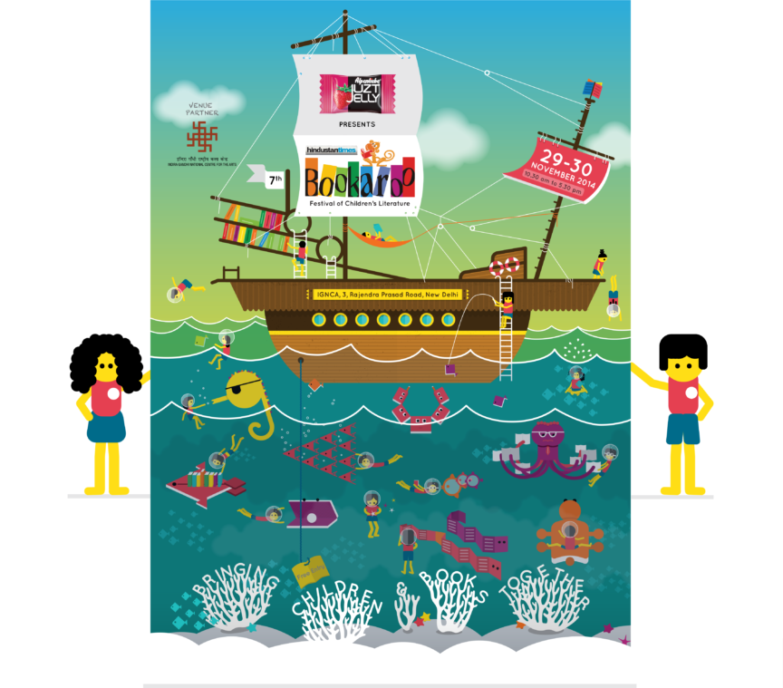 Bookaroo 2014 Poster