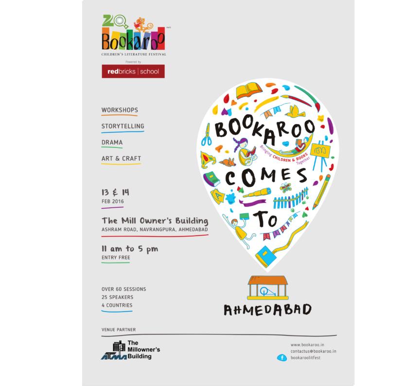 Bookaroo Ahmedabad 2016