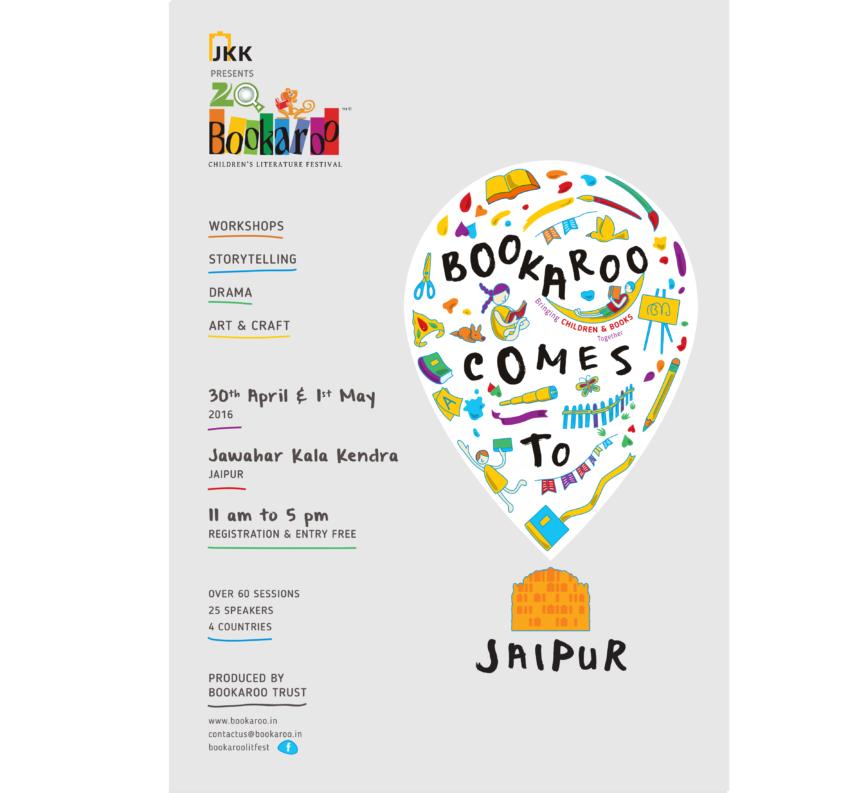 Bookaroo Jaipur 2016