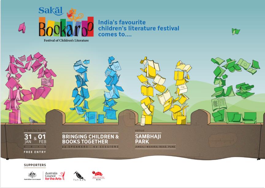 Bookaroo Posters Pune2015