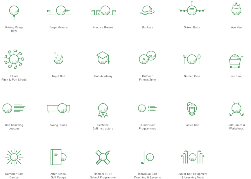 Hamoni Website Icons