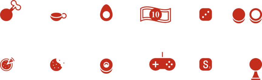Hamoni Red Icons