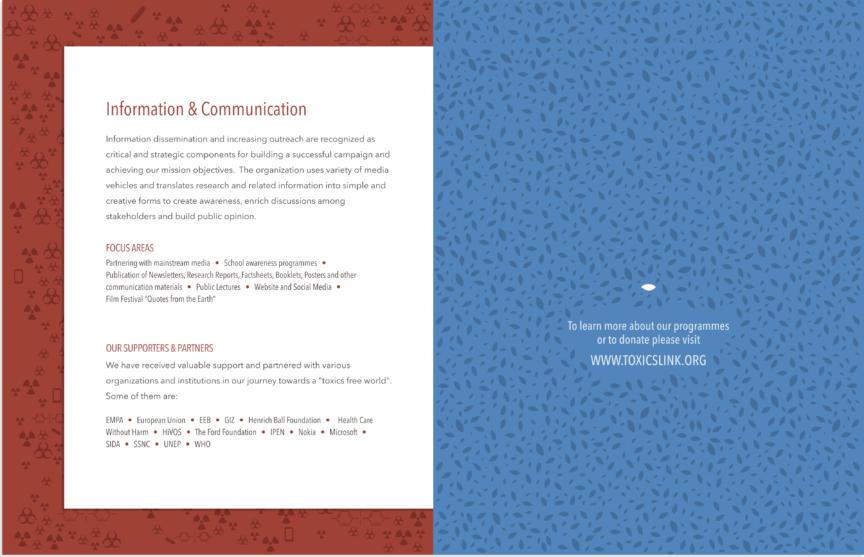 Toxics Link Brochure 5