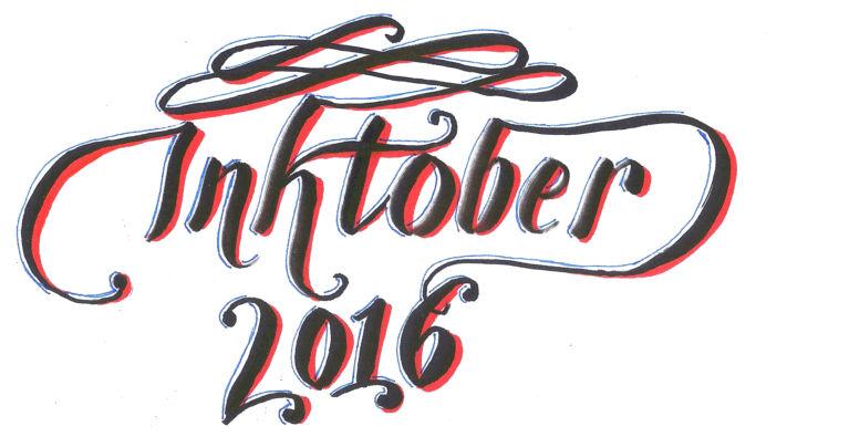 Inktober 2016 Feature Image